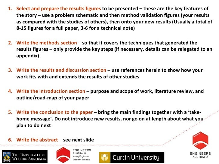 discussion research paper tense