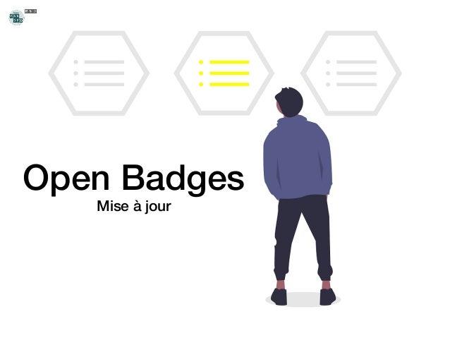 Open Badges Mise à jour