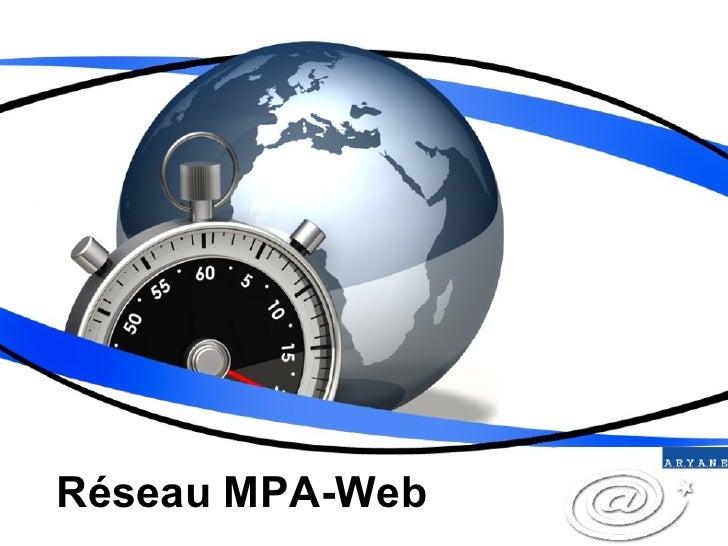 Réseau MPA-Web