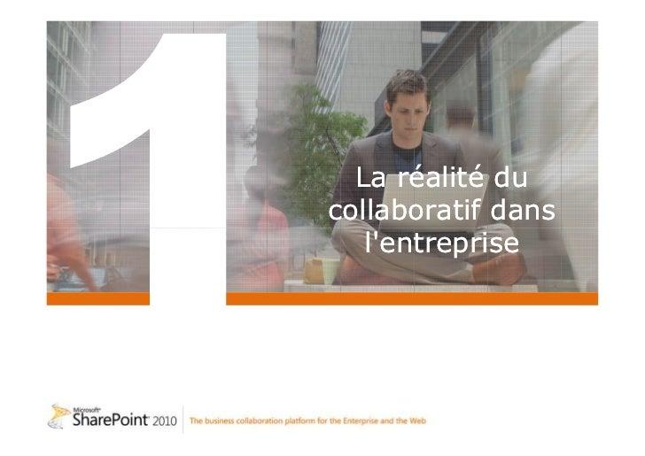 Réseau Social d'Entreprise avec Sharepoint 2010 Slide 2