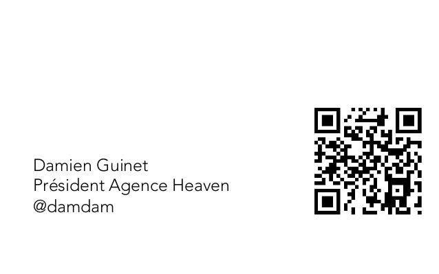 Damien GuinetPrésident Agence Heaven@damdam