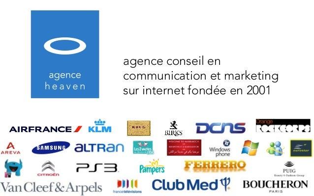 agence conseil encommunication et marketingsur internet fondée en 2001