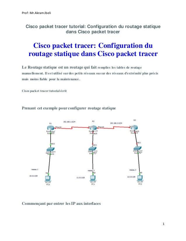 Cisco Packet Tracer Tutorial Configuration De Dhcp Dans