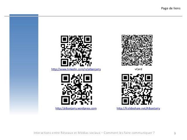 Page de liens           http://www.linkedin.com/in/albanjarry                   vCard              http://albanjarry.wordp...