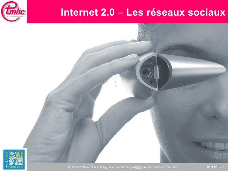 Internet 2.0  –  Les réseaux sociaux