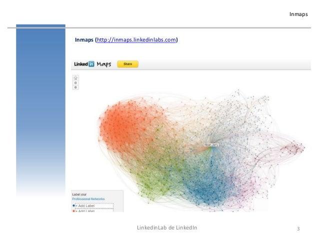 Reseaux sociaux professionnels - Linkedinlabs : Inmaps Resume Timeline Dropin Signal Slide 3