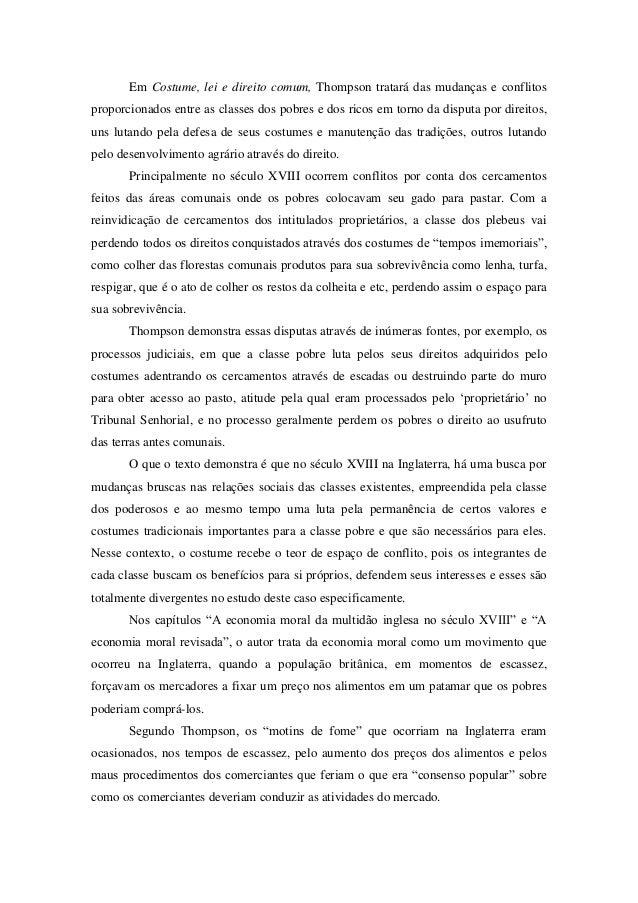 Thompson comum pdf em costumes