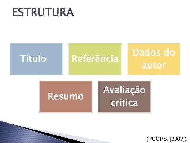ESTRUTURA                           Dados do Título       Referência                            autor                    A...