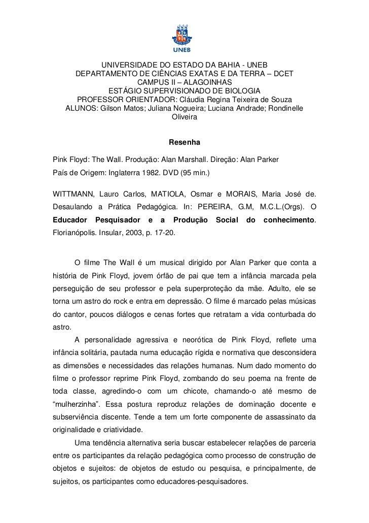 UNIVERSIDADE DO ESTADO DA BAHIA - UNEB      DEPARTAMENTO DE CIÊNCIAS EXATAS E DA TERRA – DCET                      CAMPUS ...