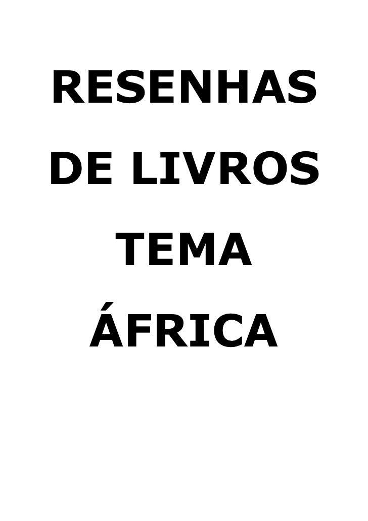 Resenha Árica
