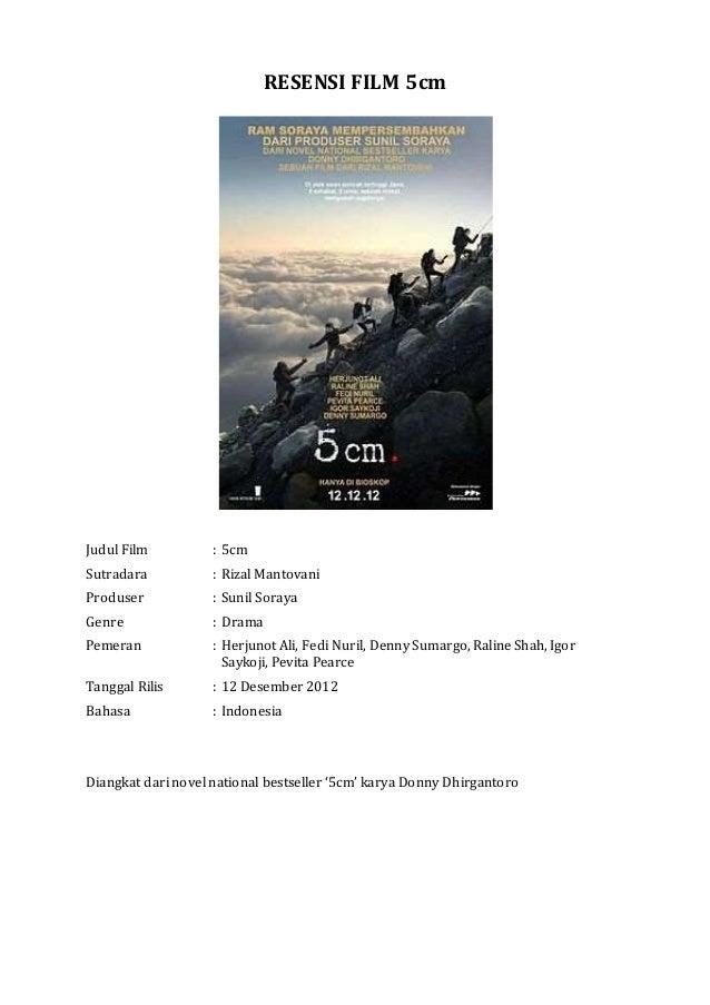 Resensi Film 5cm | Bahasa Indonesia