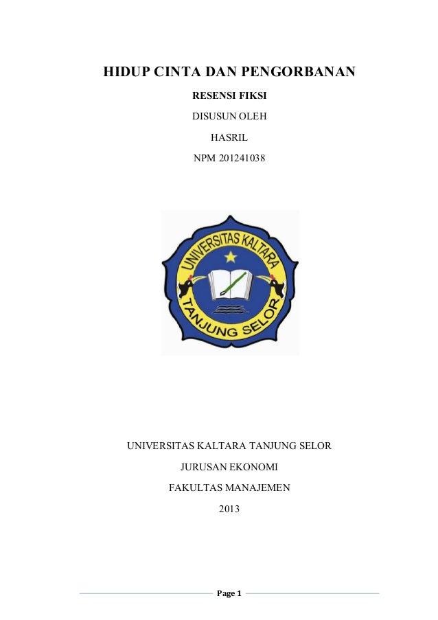 Bahasa Indonesia Resensi Novel Rindu Callista