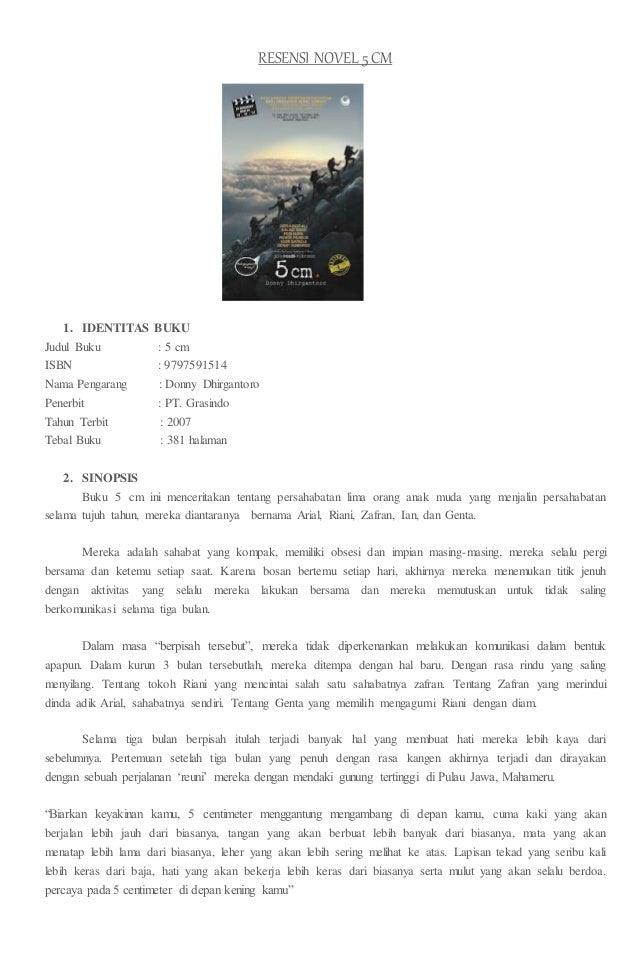 20 Resensi Novel