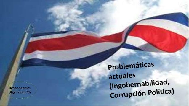 Concepto de Gobernabilidad o Ingobernabilidad
