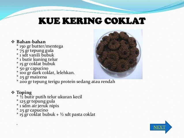 Resep Cara Membuat Kue Kering