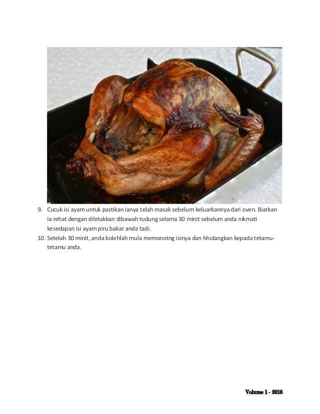 resepi ayam bakar herba surasmi Resepi Ayam Rosemary Azie Kitchen Enak dan Mudah
