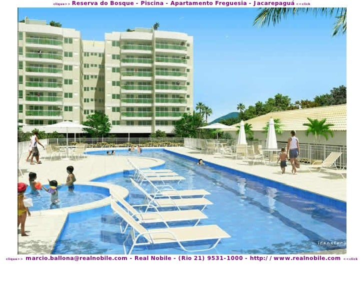 Reserva do Bosque - Piscina - Apartamento Freguesia - Jacarepaguá <<click                    clique>>                marci...
