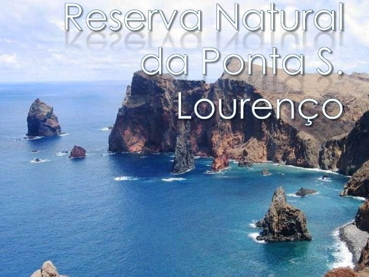 Reserva Natural da Ponta S. Lourenço<br />