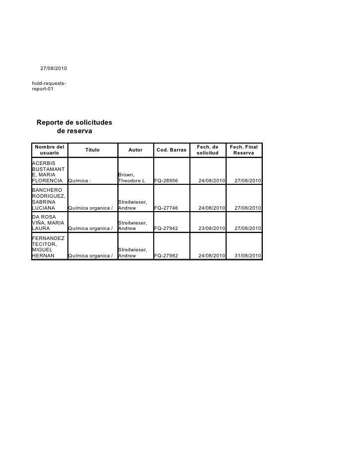 27/08/2010  hold-requests- report-01      Reporte de solicitudes       de reserva   Nombre del                            ...