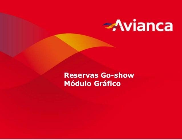 1 Reservas Go-show Módulo Gráfico