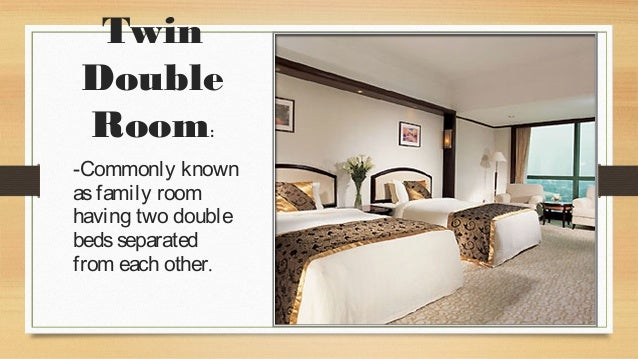 What Does Double Twin Room Mean
