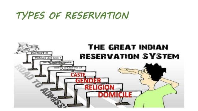 reservation in india quora