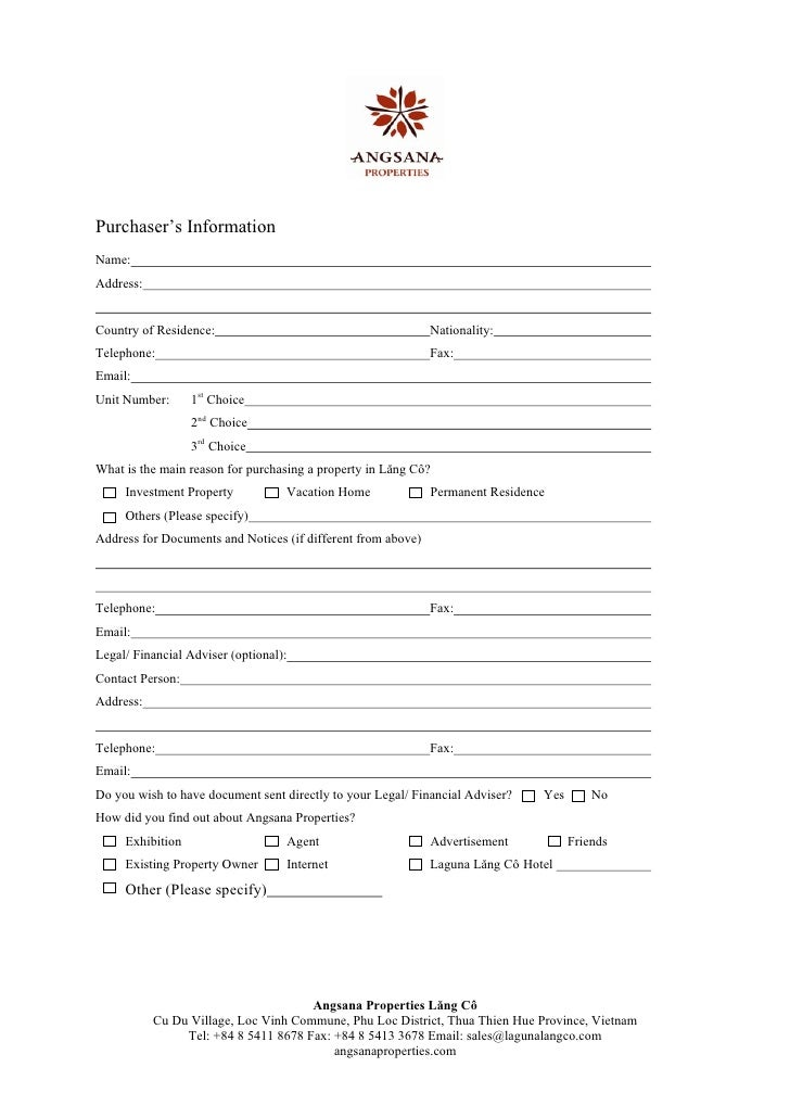 Reservation Form Eng Final