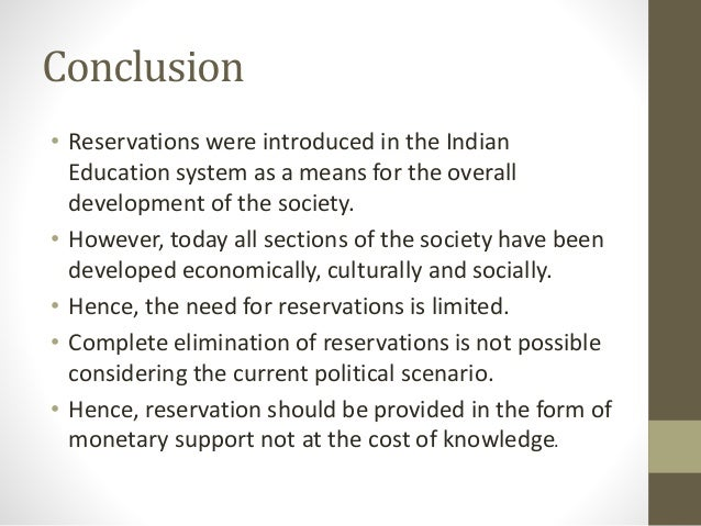 essay on quota system in india Iii introduction india is the world's largest democracy in more than name it has free elections, a multi-party parliamentary system, a diverse and.