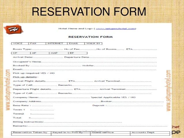 Reservation in hotel for Reservation d4hotel