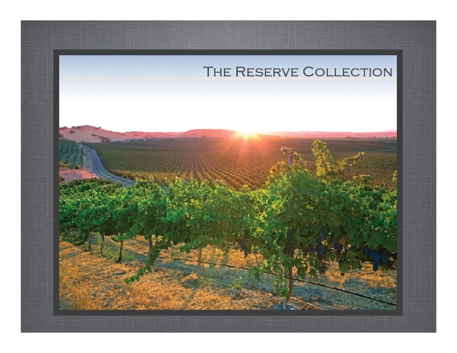 The Reserve Collection