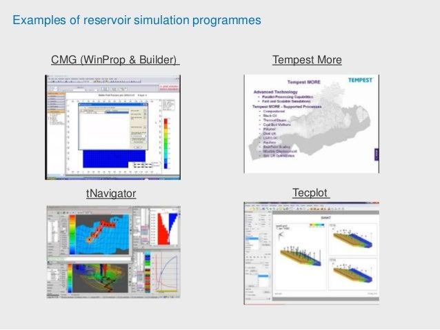 Reservoir Simulation Study