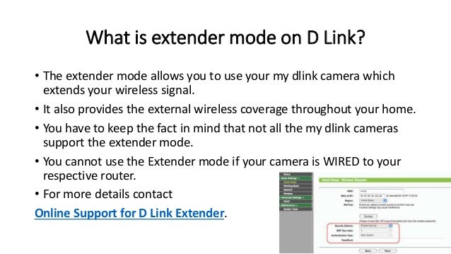 Reset and connection procedure for d link range extender