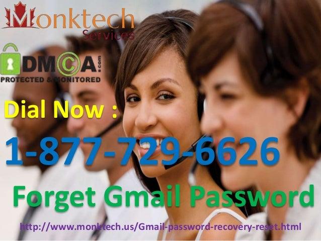How To Reset Forgotten Gmail Password