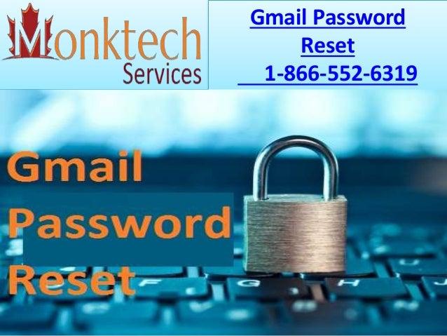 Gmail Password Reset 1-866-552-6319