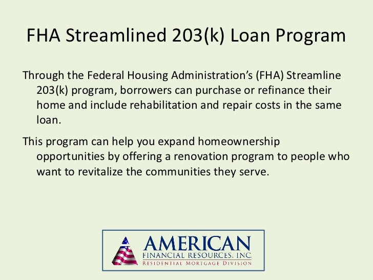 Worksheets Fha Streamline Calculation Worksheet fha streamline 203k residential streamlined