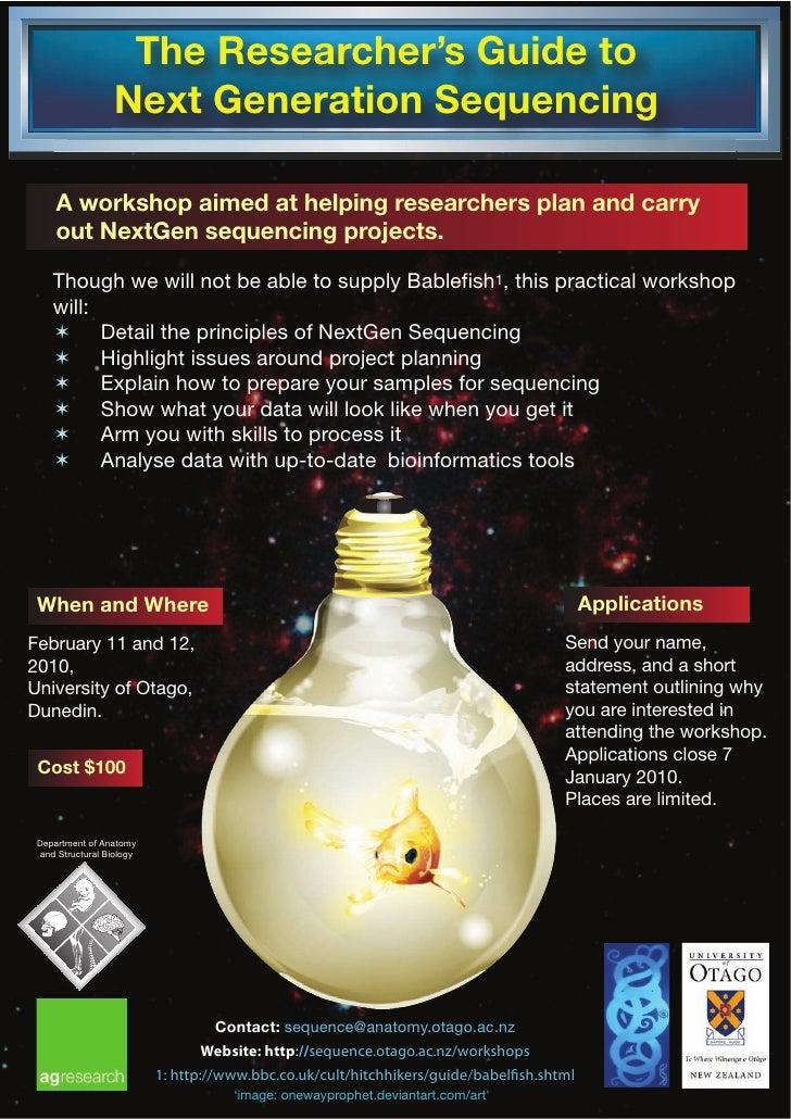 University Of Otago Ngs Workshop