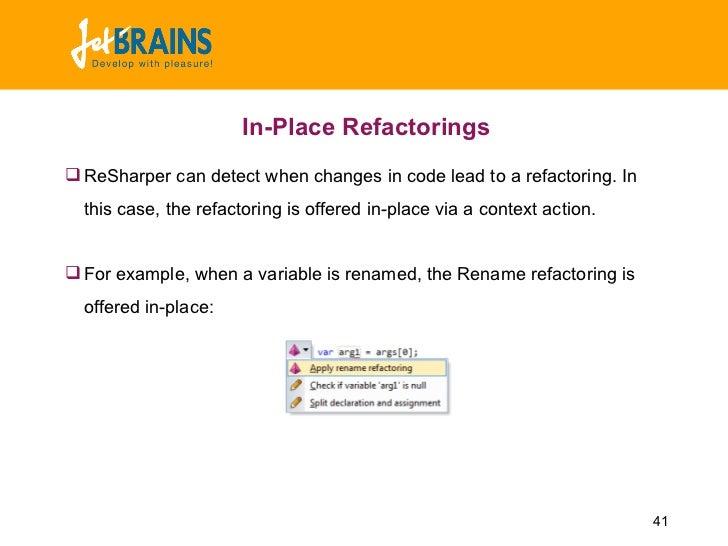 Resharper Wiki
