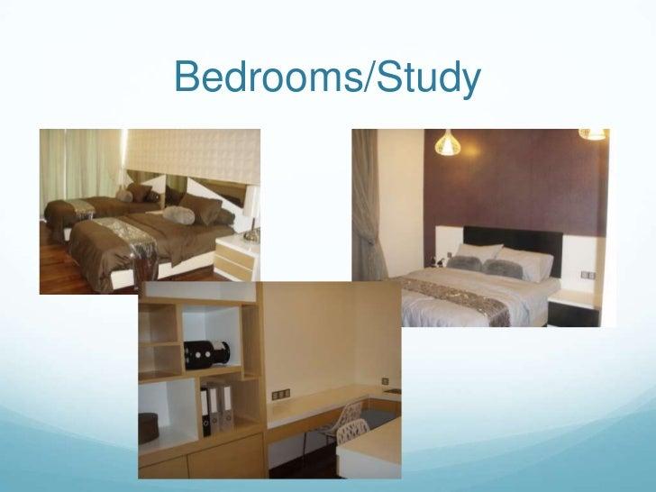 Bedrooms/Study