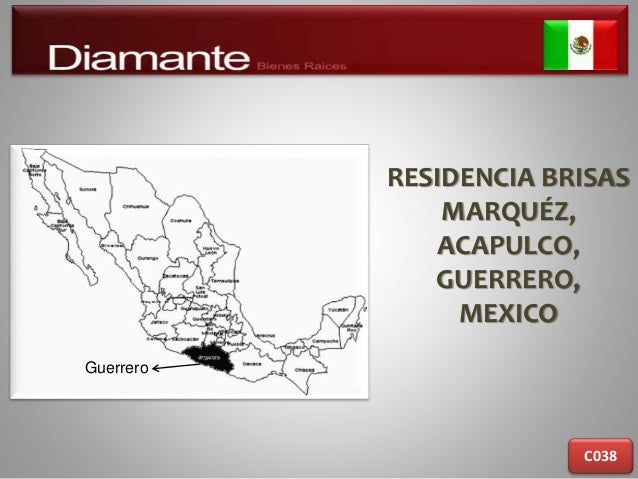 RESIDENCIA BRISAS MARQUÉZ, ACAPULCO, GUERRERO, MEXICO C038 Guerrero