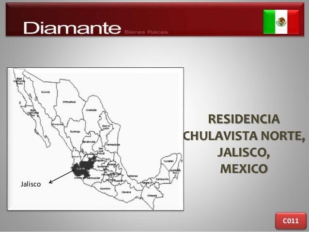 RESIDENCIA CHULAVISTA NORTE, JALISCO, MEXICO C011 Jalisco