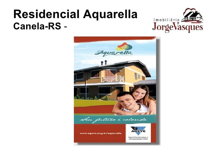 Residencial Aquarella Canela-RS  -