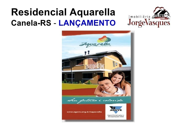 Residencial Aquarella Canela-RS  -  LANÇAMENTO