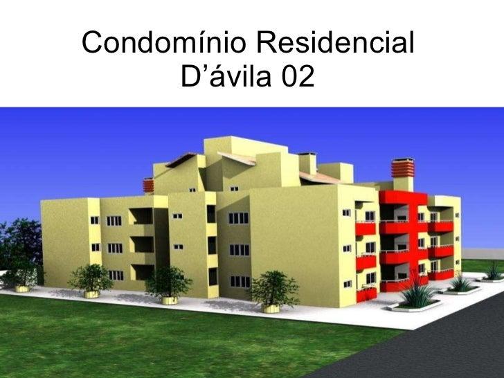 Condomínio Residencial D'ávila 02