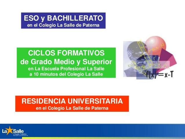 Residencia De Estudiantes La Salle Paterna