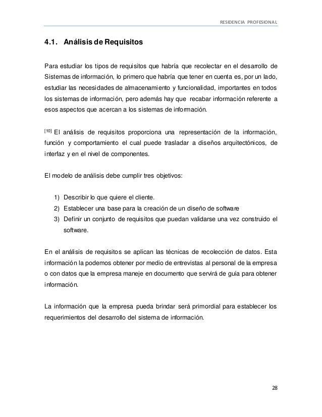 Residencia profesional saga medica for Requisitos para estudiar arquitectura