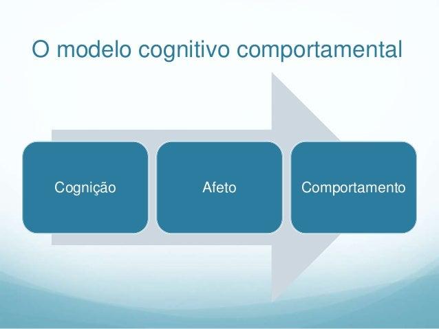 Três preposições fundamentais da TC:  A atividade cognitiva influencia o comportamento.  A atividade cognitiva pode ser ...