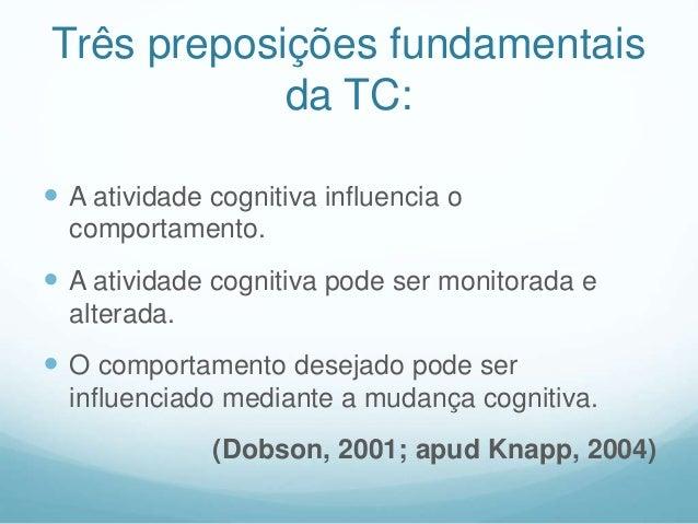 TCC ou TCC's?  provém da somatória de diversas atividades científicas e formas de atuação clínicas como: psicologia exper...