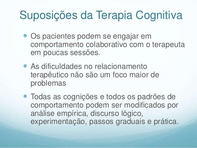 """Modelo Cognitivo de Beck  """"As emoções são vistas como informativas, na medida em que elas refletem a natureza das tentati..."""