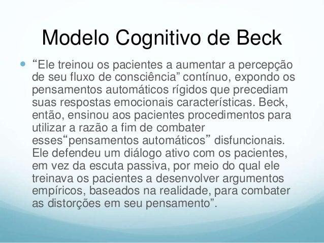 Inventário de Beck Pontuação Estado da Depressão 00-09 pontos Ausência de Depressão 10-19 pontos Depressão Reativa/Leve 20...