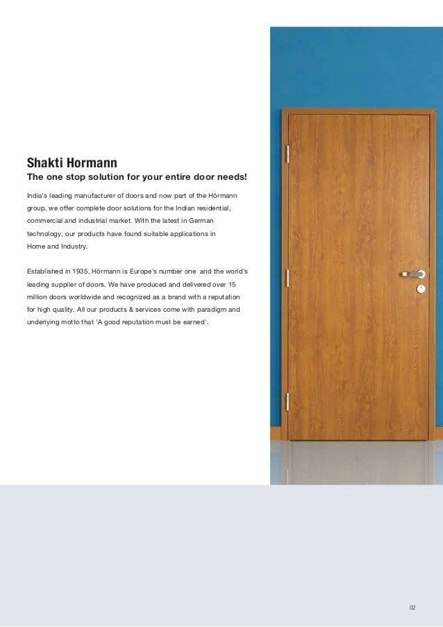 ... Doors for Home and Industry; 2.  sc 1 st  SlideShare & Residential door-catalogue active green window solution
